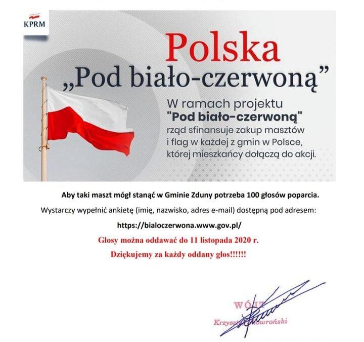 """Polska """"Pod biało-czerwoną"""""""