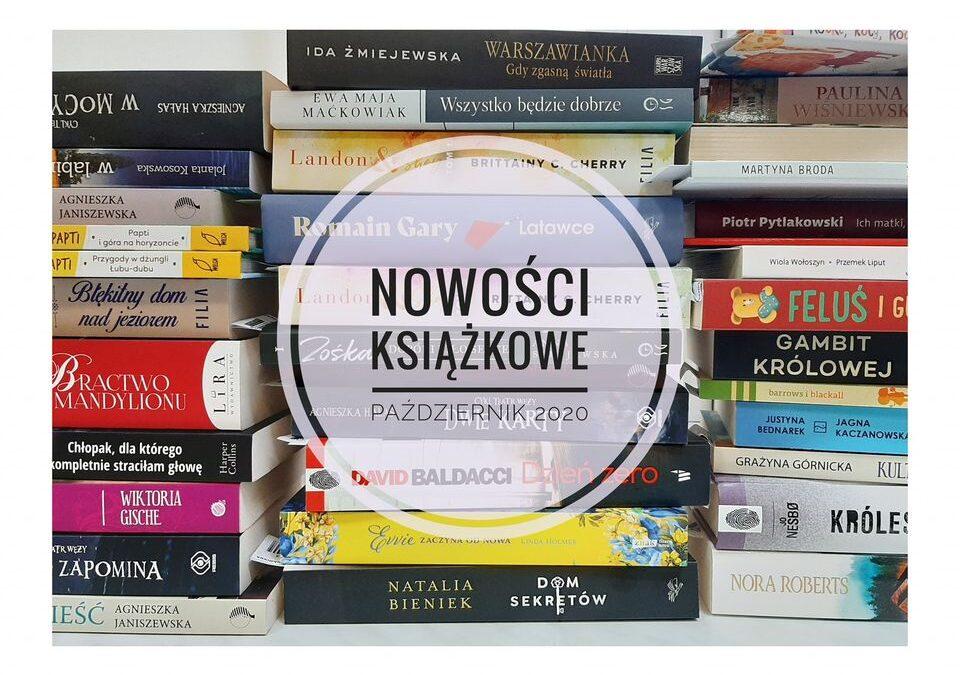 Październikowe nowości książkowe