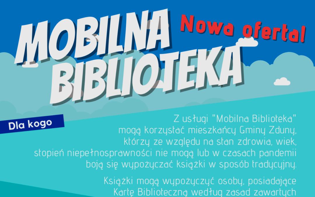 """Rusza """"Mobilna Biblioteka"""". Zamów książki do domu!"""