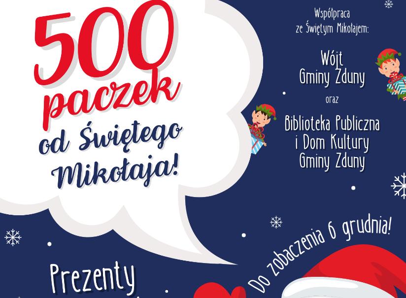 6 grudnia Święty Mikołaj rozda prezenty!