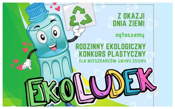 Rodzinny Ekologiczny Konkurs Plastyczny z okazji Dnia Ziemi