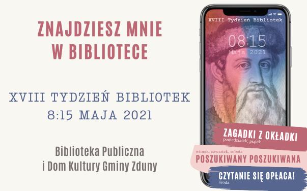 XVIII Tydzień Bibliotek