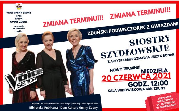 Zduński Podwieczorek z Gwiazdami – zmiana terminu!