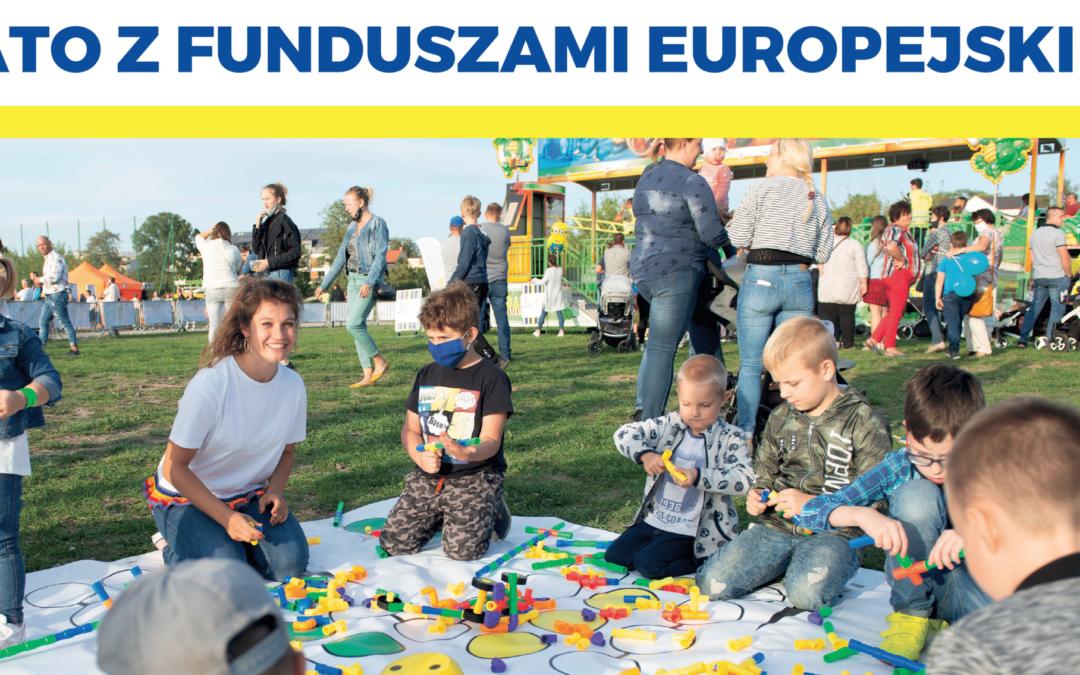 """Piknik rodzinny """"Lato z Funduszami Europejskimi""""! Zapraszamy już w środę"""