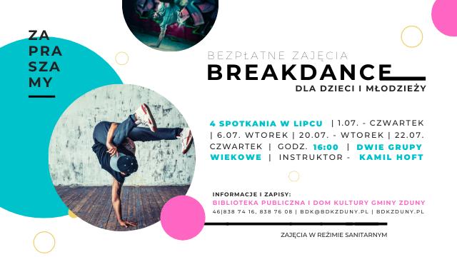 Breakdance – czyli kolejna propozycja zajęć!