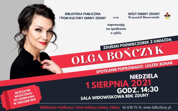 Zduński Podwieczorek z Gwiazdą – Olga Bończyk!