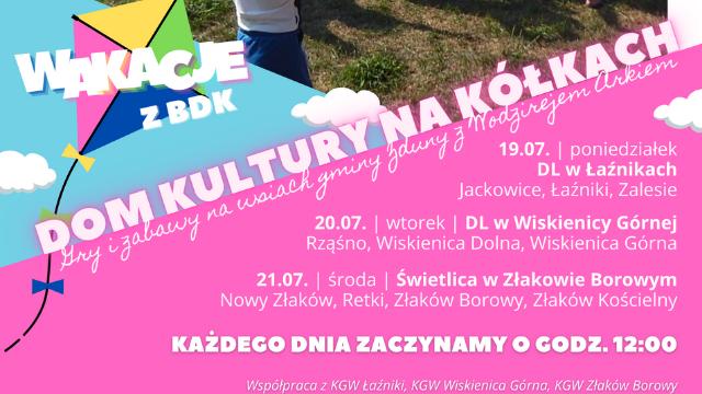 Dom Kultury na Kółkach – gry i zabawy na wsiach gminy Zduny!