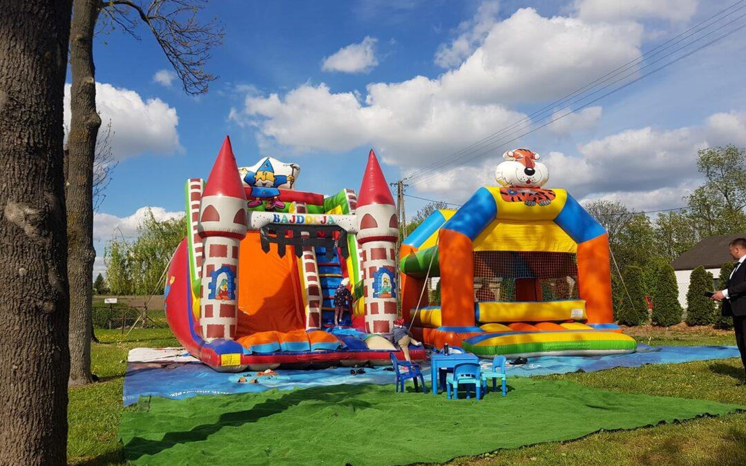 Bezpłatna strefa zabaw czekać będzie na dzieci od godz. 14.00 w Zduńskiej Dąbrowie!