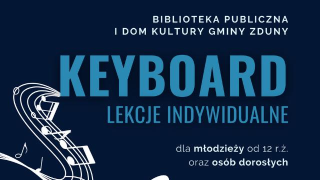 Nauka gry na keyboardzie – rusza nabór!